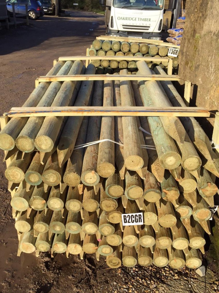 Now In Stock Round Timber And Stock Fencing Oakridge